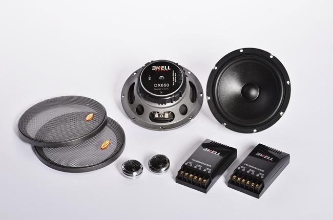 霸克DX650两分频套装喇叭 台山扬声器 台山汽车扬声器 江门汽车扬声器 台山扬声器供货商 台山扬声器批发价格