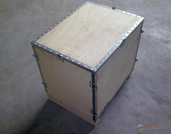 昌乐钢带木箱定做 钢带箱价格 出口木箱厂家 价格优惠