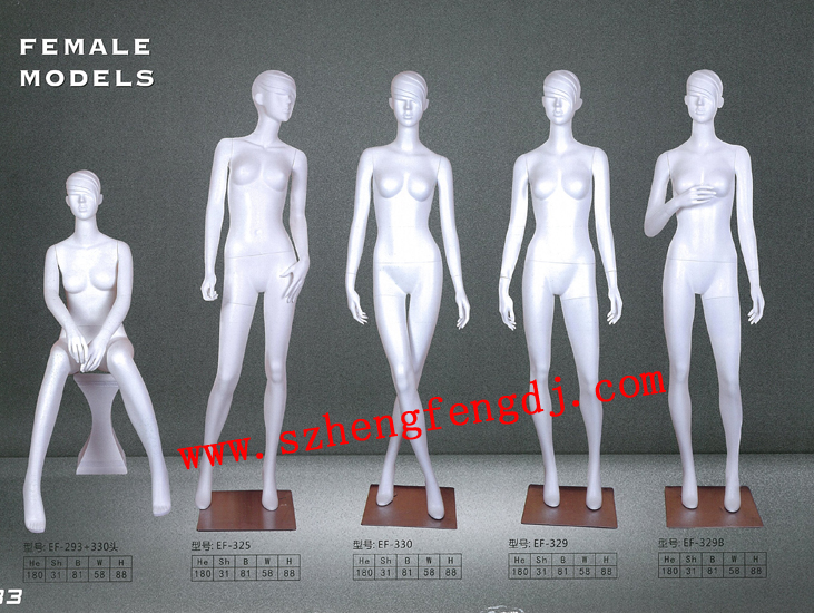 男装玻璃钢模特 女士陈列模特道具 中山亮光模特厂 展示模特销售