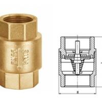 锻压卧式旋启式立式PP-R活接铝塑管黄铜止回阀底阀