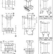 EEL19高频变压器骨架图片