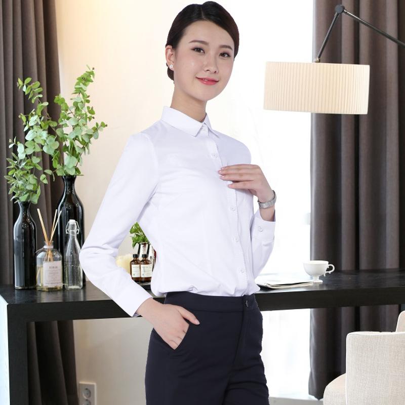 株洲职业装定做女士衬衫套装来样加工 女式衬衫 女式衬衫套装