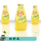 徐州艺源新款饮料瓶 锥形冷泡茶瓶 创意漂流瓶许愿瓶 透明玻璃饮料瓶