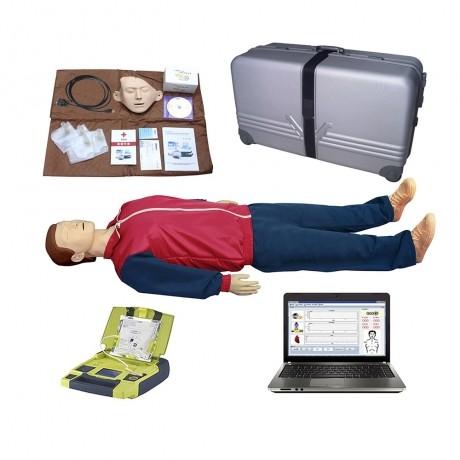 心肺复苏模拟人与AED自动体外除颤仪((计算机二合一)BLS880 京都涵宇厂家直销