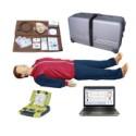 心肺复苏模拟人与AED自动体外除颤仪((计算机二合一)BLS880|京都涵宇厂家直销