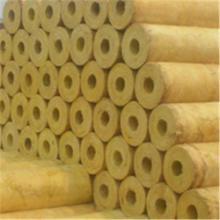 铝箔贴面岩棉管价格 蒸汽管道保温隔热专用岩棉管 岩棉保温管 岩棉管壳生产厂家欢迎洽谈图片