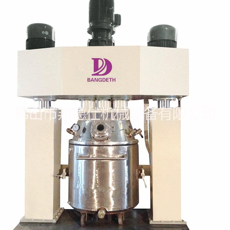 酸性透明结构密封胶设备、东莞强力分散机、硅酮胶生产设备