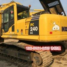 刚下工地二手小松PC240-8挖掘机到货图片