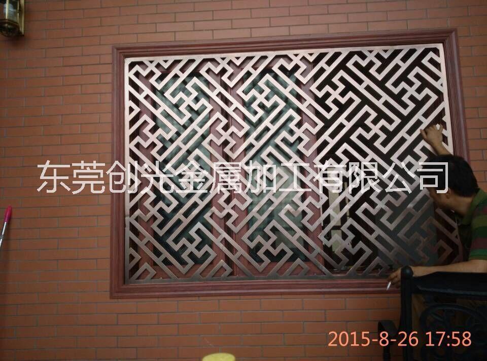铝艺外墙屏风-雕花镂空工艺屏风厂家定制直销价格