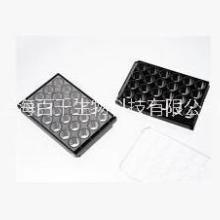 上海百千J04241激光共聚焦专用玻璃底24孔培养板24孔避光玻底培养板