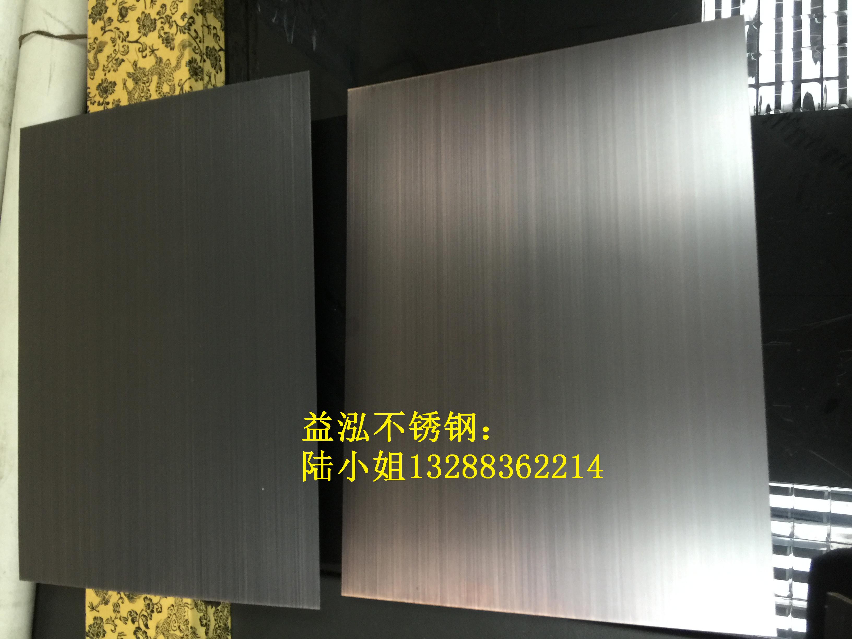 水镀青古铜板不锈钢板材做旧处理 201青古铜不锈钢水镀拉丝板厂家