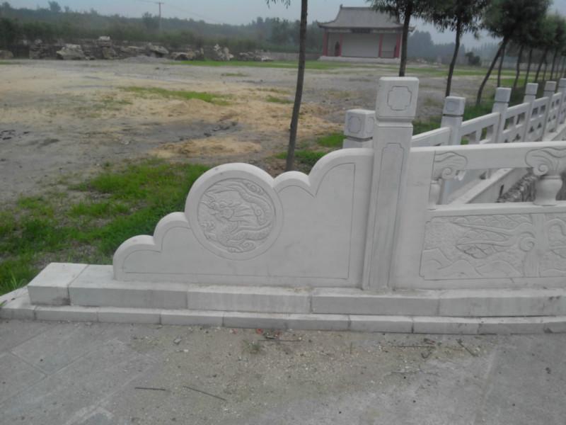 供应河北石栏杆哪里做的好 河北石栏杆供应商  河堤栏杆优惠  石栏杆厂家
