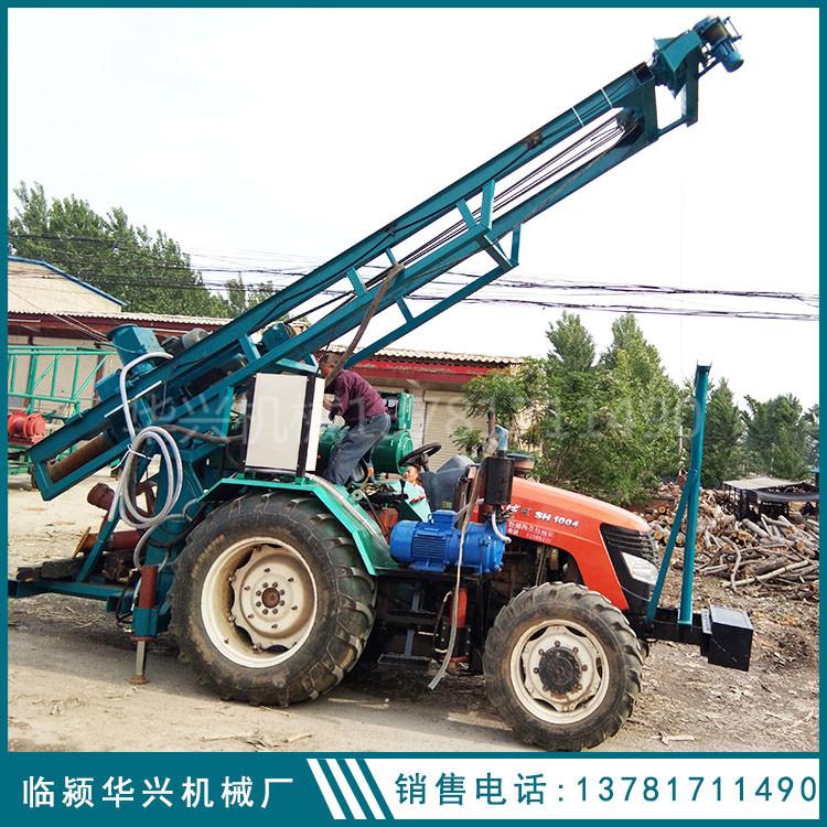 拖拉机带反循环钻机 拖拉机带150型反循环钻机