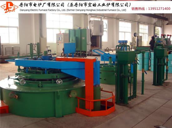 供应75KW井式气体渗碳炉 井式热处理炉