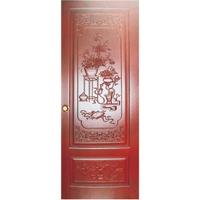 中式装修门,中式装饰套装门