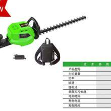 充电式电动绿篱机家用草坪剪园林园艺锂电修剪机