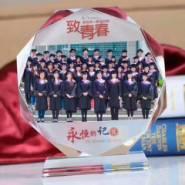 陕西新思想水晶笔筒 制作厂家图片