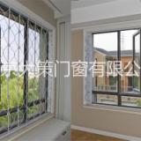 南京坤宁锰钢客厅折叠防盗窗