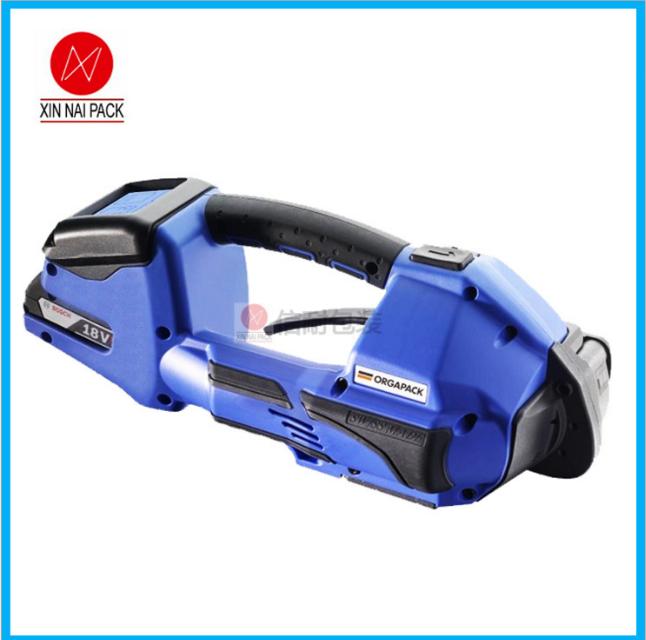 信耐ORT-260电动塑钢带打包机 变压器铁芯电动打包机 无线操作打包机