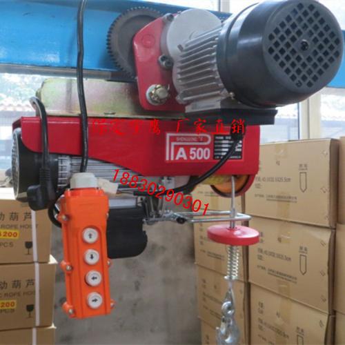 供应三亚PA1000微型电动葫芦厂家,PA1000微型电动葫芦批发价格