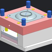 供应U盘卡片 u盘 批发  创意卡片u盘外壳 塑胶产品模具制造和模具加工批发