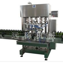全自动直线灌装机哪家好 全自动灌装机生产线_远杨灌装生产图片