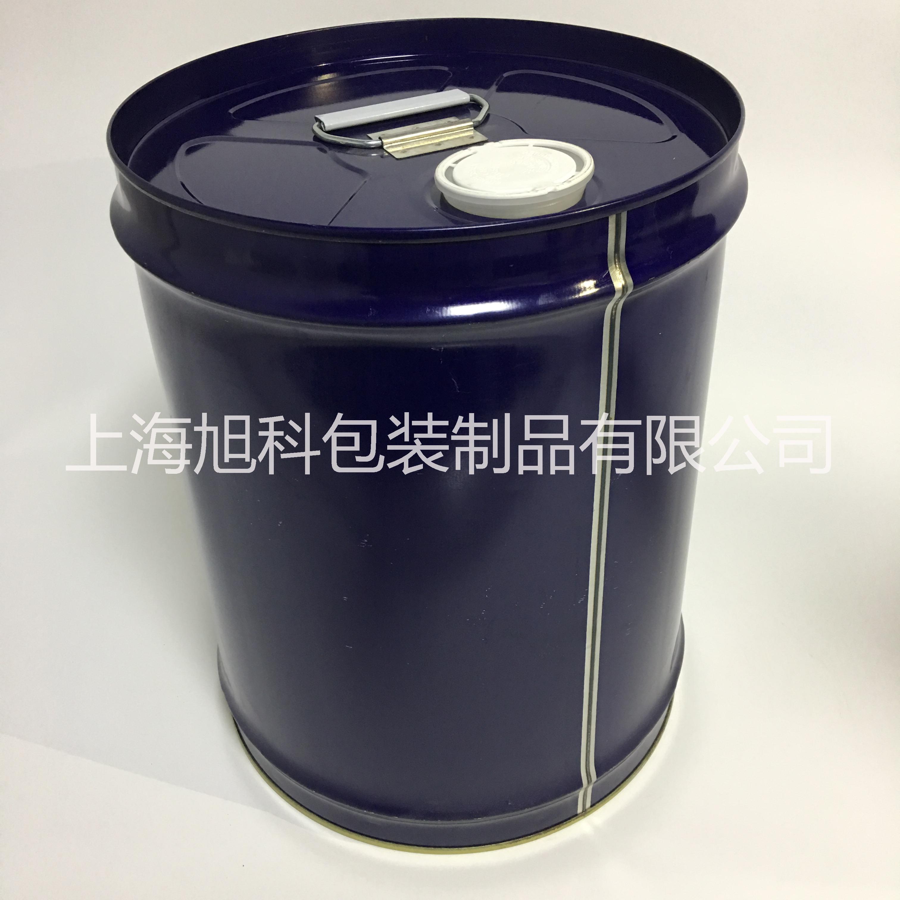 进口20kg化工小铁桶上海铁桶定制加工 20L冷冻油桶复盛油桶