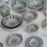 青花牡丹系列密胺餐具 青花牡丹系列密胺餐具JD5906