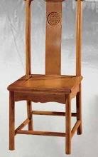 南康餐椅牛角椅象头椅中式实木椅子明清古典雕花餐桌椅子靠背椅特价