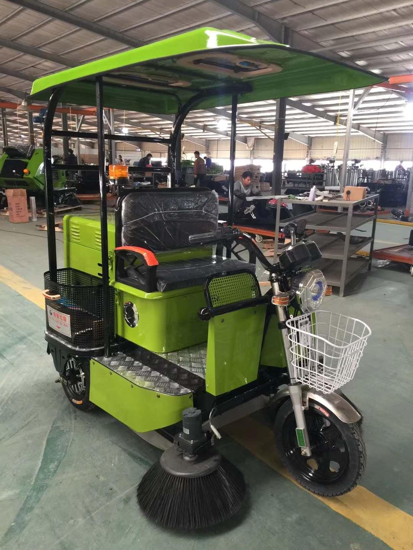 三轮驾驶式滚刷扫地机   柳宝LB-1550双滚刷清扫林园学校扫地车