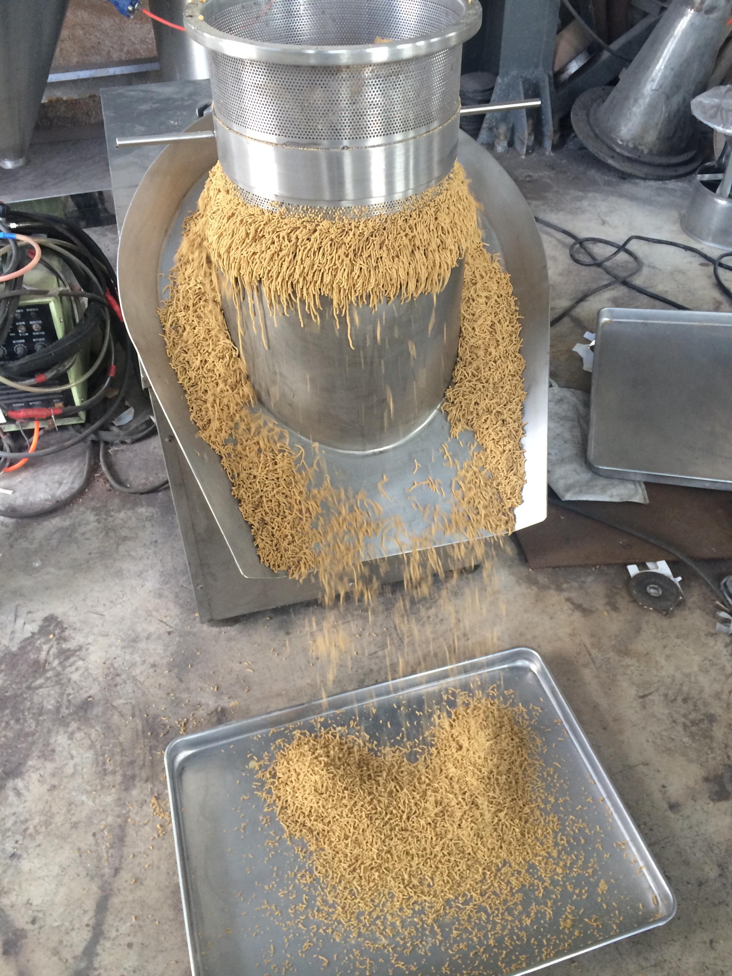 恒迈厂家现货优惠供应鸡精 食品颗粒专用旋转制粒机