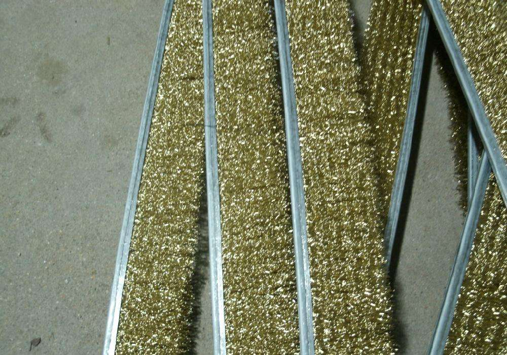 刷条 刷条  钢丝条刷   尼龙丝条刷 条刷生产厂家