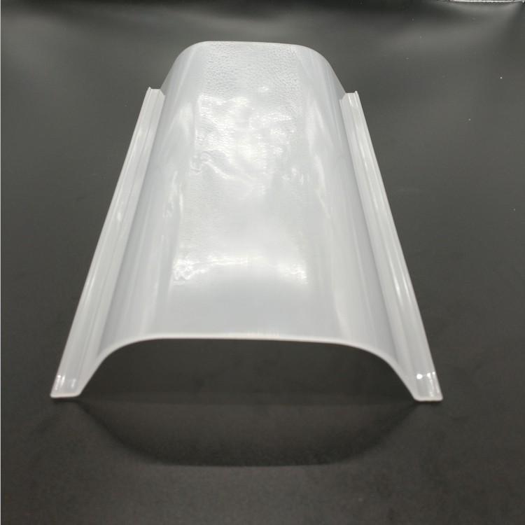 led灯罩 pc灯罩 塑料灯罩 挤出乳白透明扩散pc罩子工厂定制灯饰灯具配件