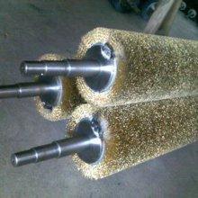 安徽 工业辊刷  剑麻辊刷  弹簧辊刷  清洗辊刷  四方毛刷量大从优品质保证