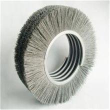 压片式刷辊  内绕式刷辊  磨料丝刷辊  PVC毛刷  工业毛刷辊批发