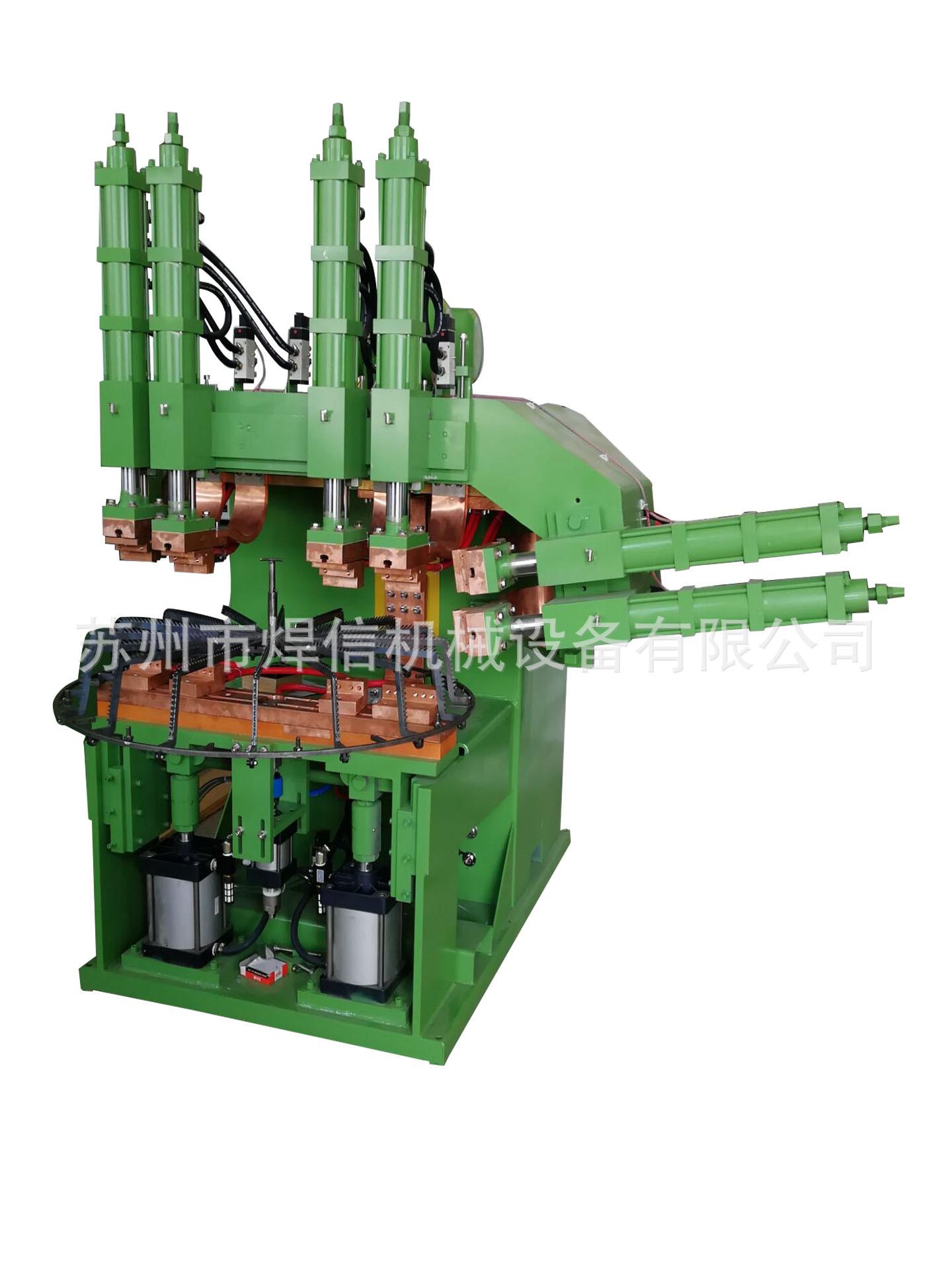 焊信风机网罩成套设备自动排焊机厂家直销多头排焊机网片排焊机 大型风机网罩成套设备自动排焊机