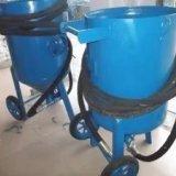 深圳钢结构除锈翻新开放式喷砂机 油罐去油漆移动喷砂机销售