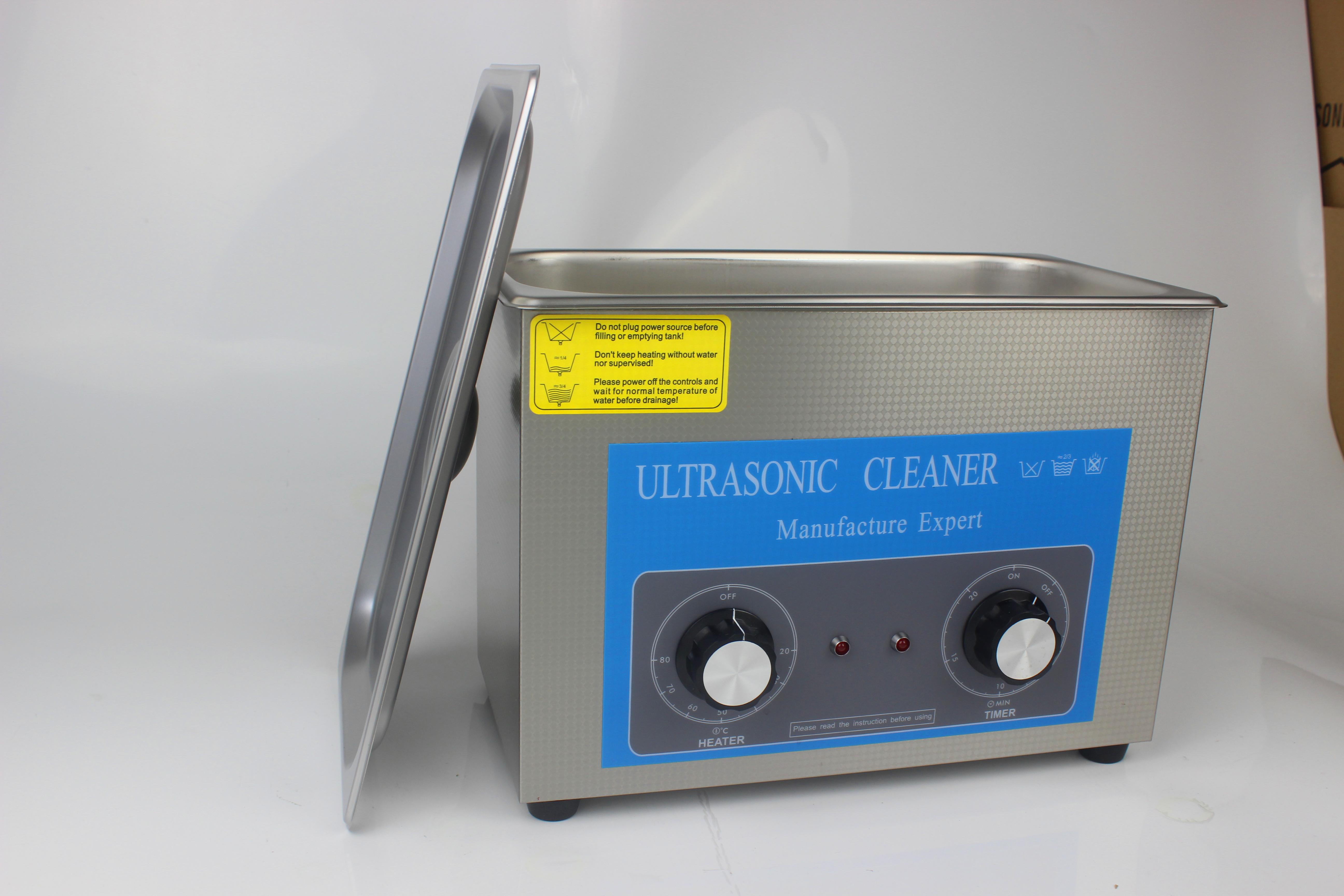 4L机械加温超声波清洗机 340HT超声波清洗机 4L超声波清洗机  4L 180W超声波清洗机