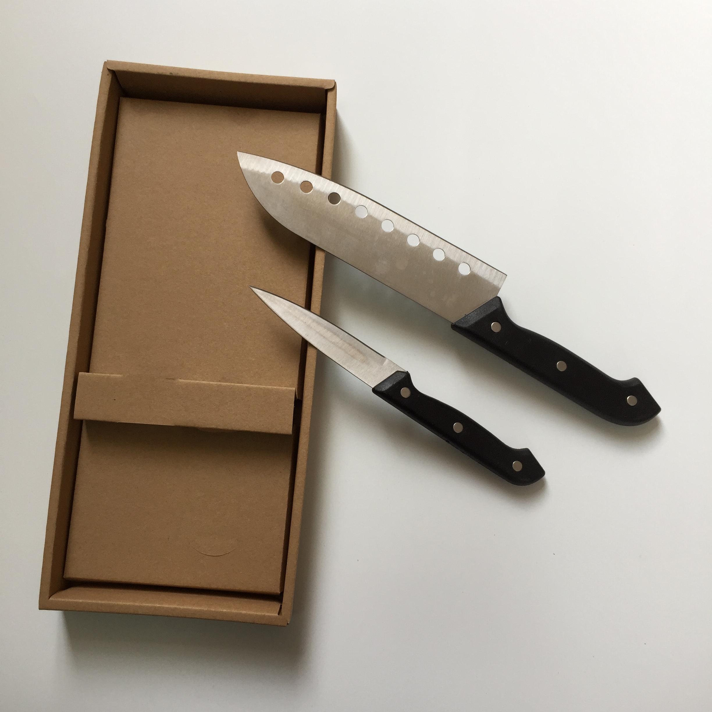 阳江亿万耐用家用两件套刀礼品套装厨房小帮手小工具