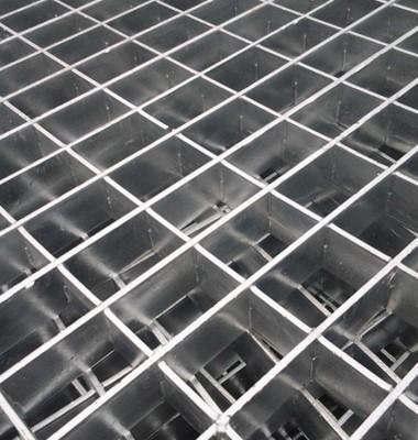 平台踏步板镀锌钢格板沟盖板图片/平台踏步板镀锌钢格板沟盖板样板图 (2)