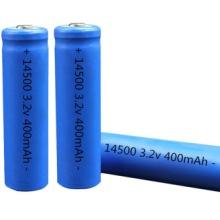 5号14500磷酸铁锂电池 3.2V/400毫安时 500毫安时 600毫安时批发