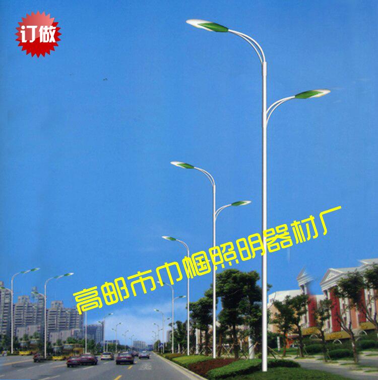 10米双臂LED路灯厂家批发  10米双臂LED路灯厂家直销   10米双臂LED路灯优质供应商