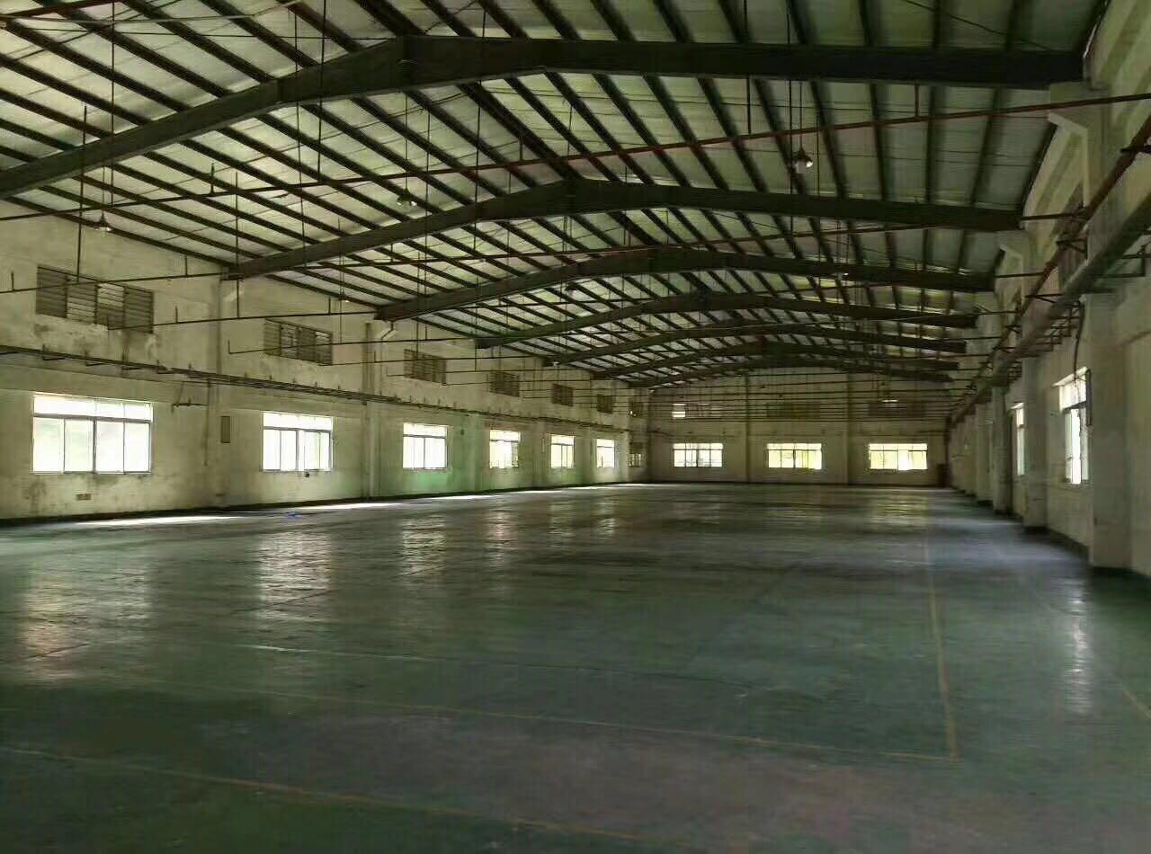 石潭布优质独院钢构厂房2300滴水6米带喷淋出租 优质钢构厂房