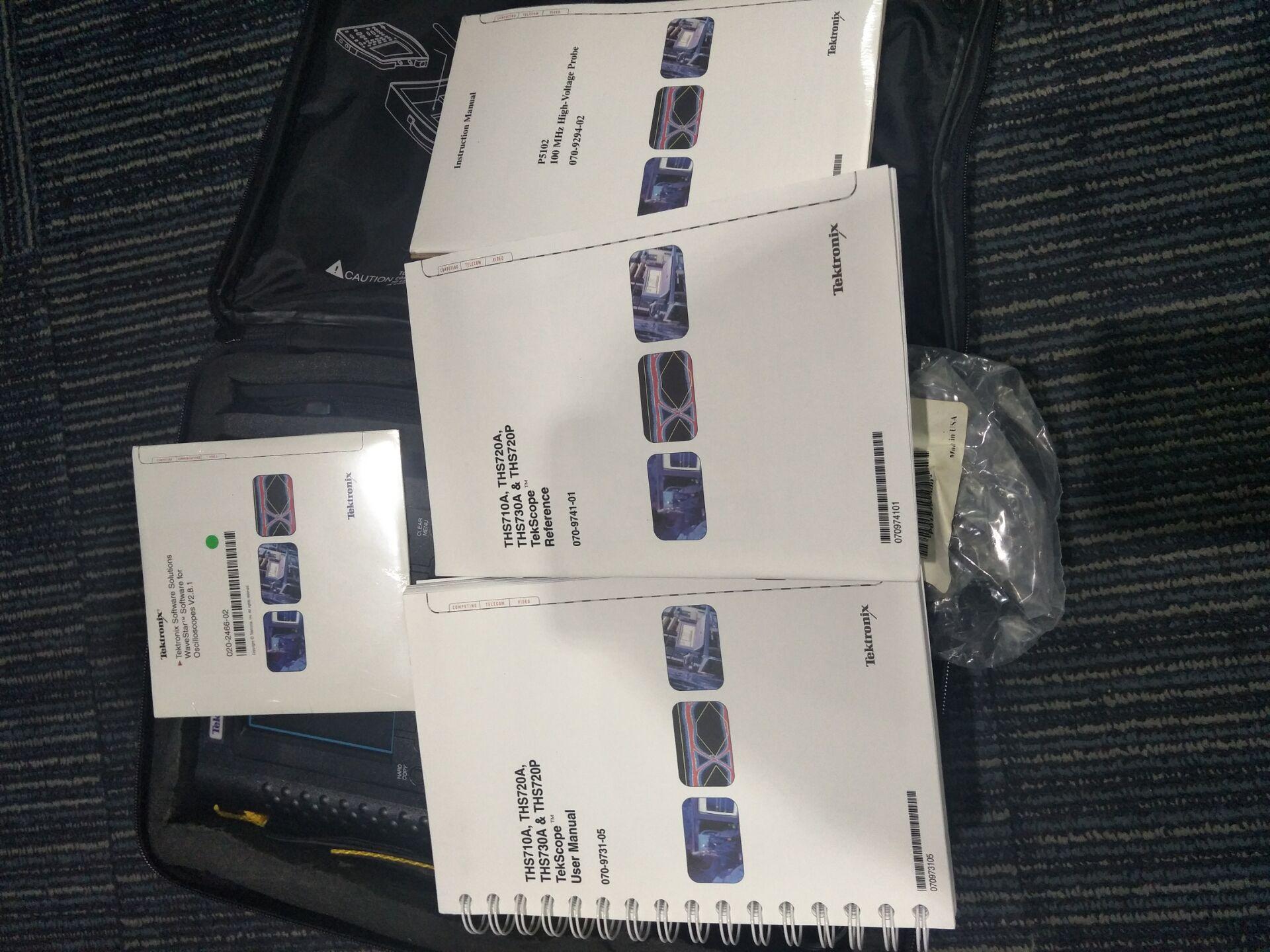出售/租售全新泰克THS720P手持示波器物美价廉.配机齐全