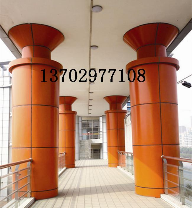 包柱子铝单板