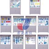 JS-QG10型钳工工艺学陈列柜 钳工工艺学陈列柜