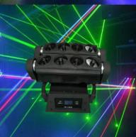 8眼摇头光束激光灯 酒吧专用激光灯,激光灯厂家  舞台灯光生产厂家