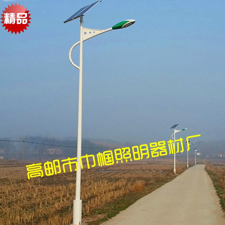 100w太阳能路灯 10米单臂LED市政工程道路照明户外路灯
