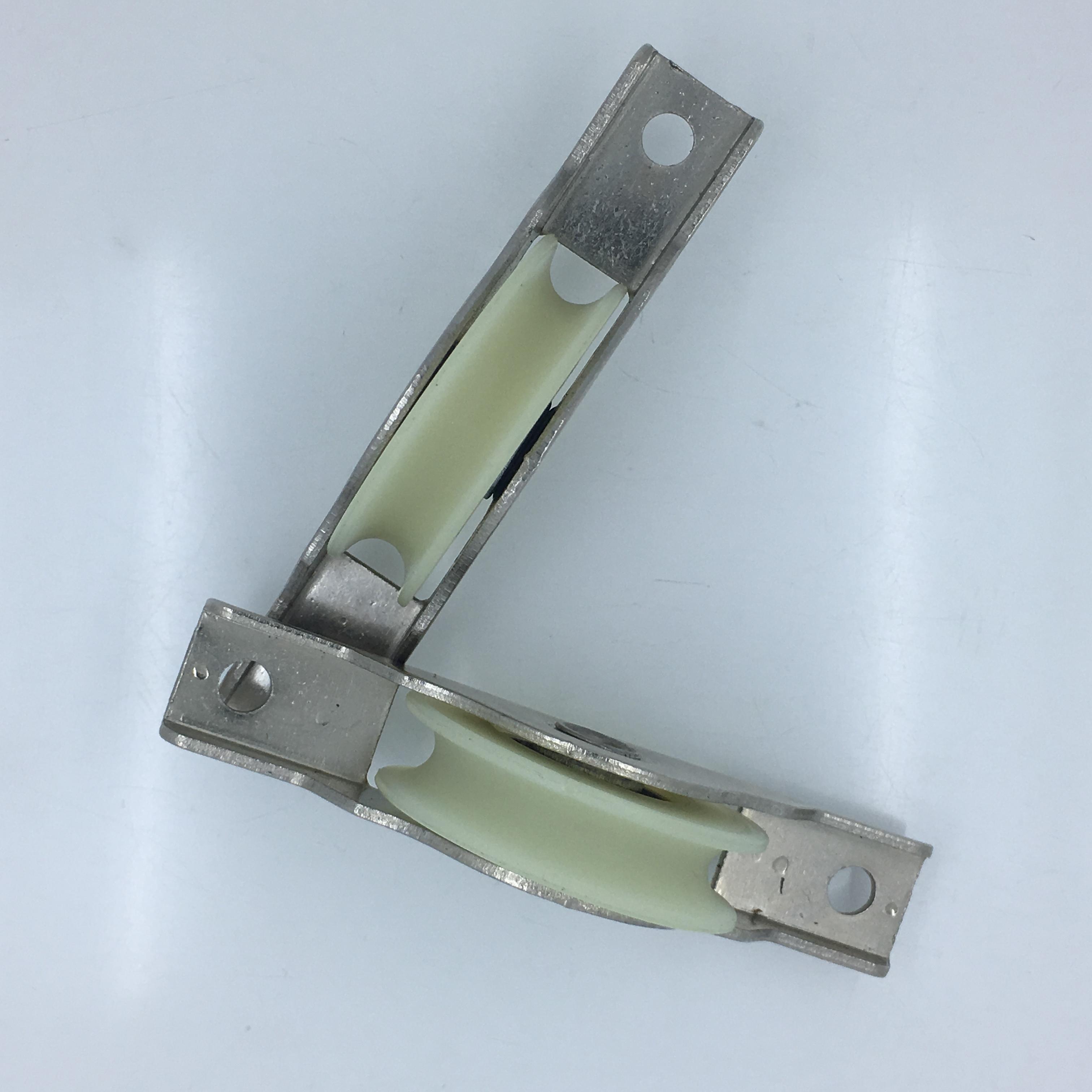 移门轮厂家 尼龙滑轮 门窗轨道滑轮 壁柜展柜玻璃门滑轮