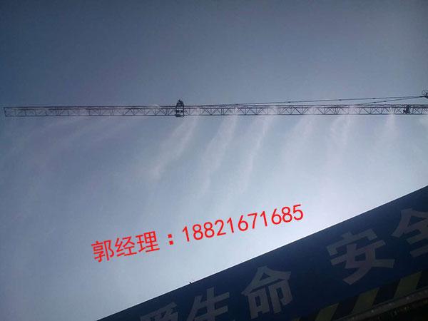 塔吊喷淋、围挡喷淋工雾化降尘系统